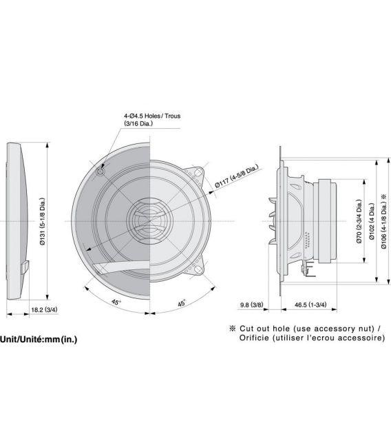 Pioneer TS-E1002i