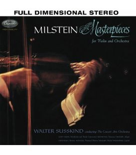 Nathan Milstein - Masterpieces for Violin and Orchestra